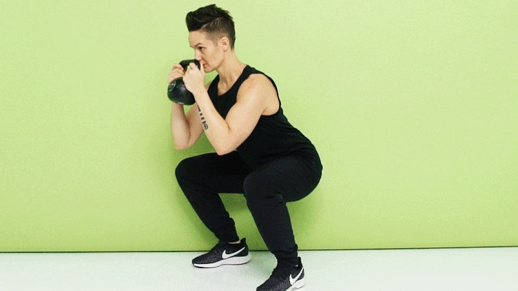 The world's best kettlebell squats to strengthen your lower body